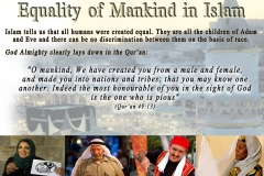 35-Equality of Mankind in Islam