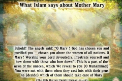 37-What Islam says about Mother Mary