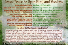 51- Jesus and Muslims