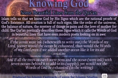55-Knowing God