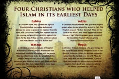 56-Four Christians Who Helped Islam In Its Earliest Days