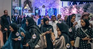 Saudi women at the Amex Luxury Expo in Riyadh. SERGEY PONOMAREV FOR THE NEW YORK TIMES